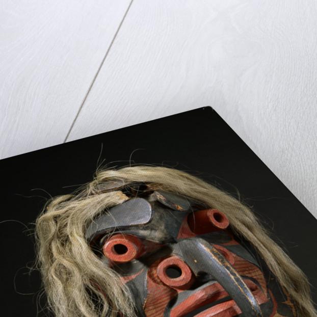 A Heiltsuk Mask by Corbis