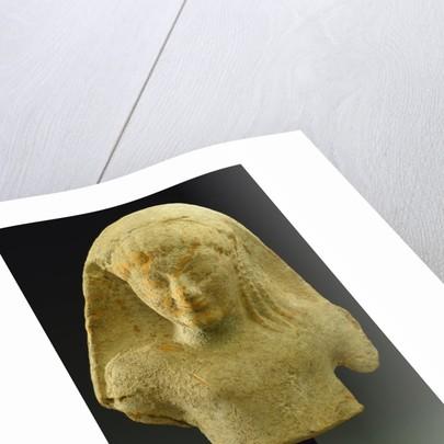 Archaic Greek Terracotta Votive, Circa Mid 6th Century B.C.E. by Corbis