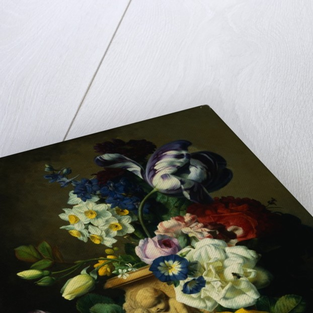 Still Life with Flowers by Charles-Joseph Node