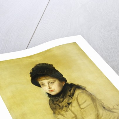 Portrait of Kathleen Newton by James Tissot