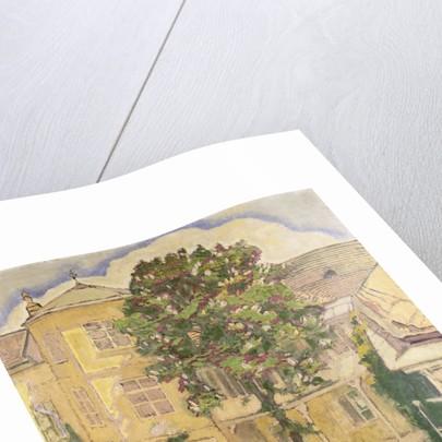 Blooming Chestnut Tree in Garden by Koloman Moser