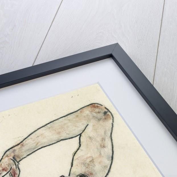 Nude by Egon Schiele