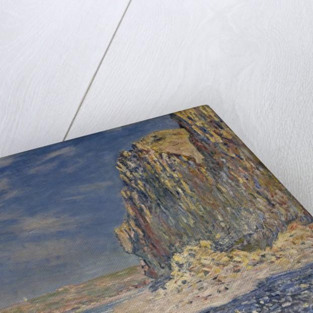 Falaise, near Fecamp by Claude Monet