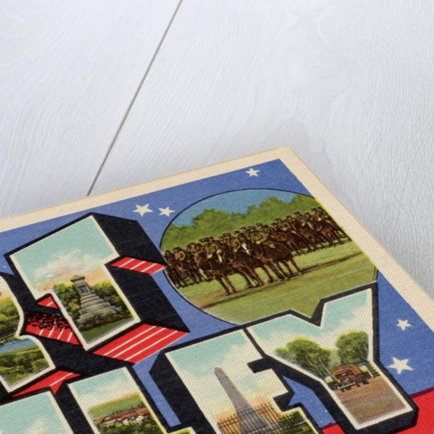 Greeting Card from Fort Riley, Kansas by Corbis
