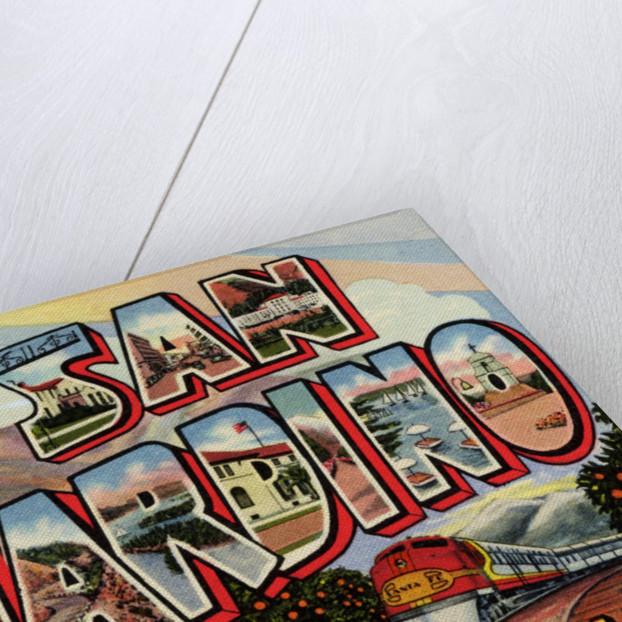 Greeting Card from San Bernardino, California by Corbis