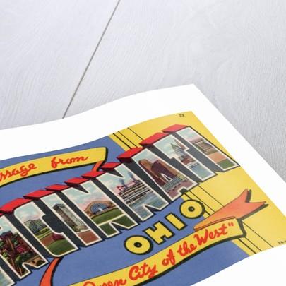 Greeting Card from Cincinnati, Ohio by Corbis