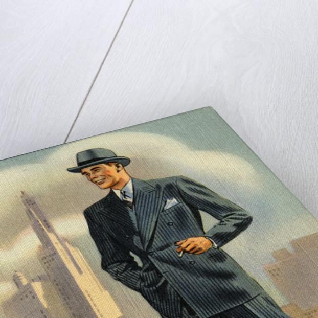 Exclusive Fabrics Advertisement by Corbis