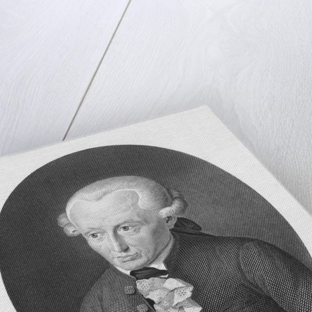 Immanuel Kant Engraving by Corbis
