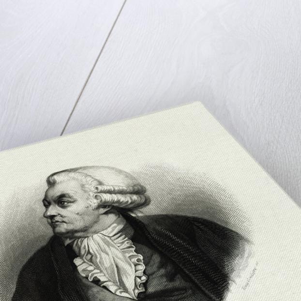 Honore Gabriel Riqueti, Comte de Mirabeau Engraving by Tony Goutiere