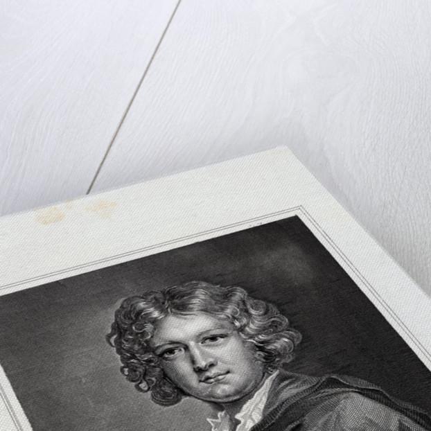 Engraving Print of Isaac Becket by W.H. Watt