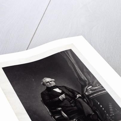 George Peabody Engraving by George Edward Perine
