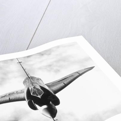 F-102A in Flight by Corbis