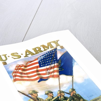 U.S. Army - Guardians of the Colors Poster by Thomas Woodburn