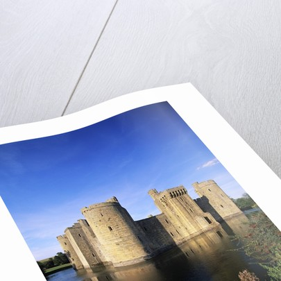 Bodiam Castle and Moat by Corbis