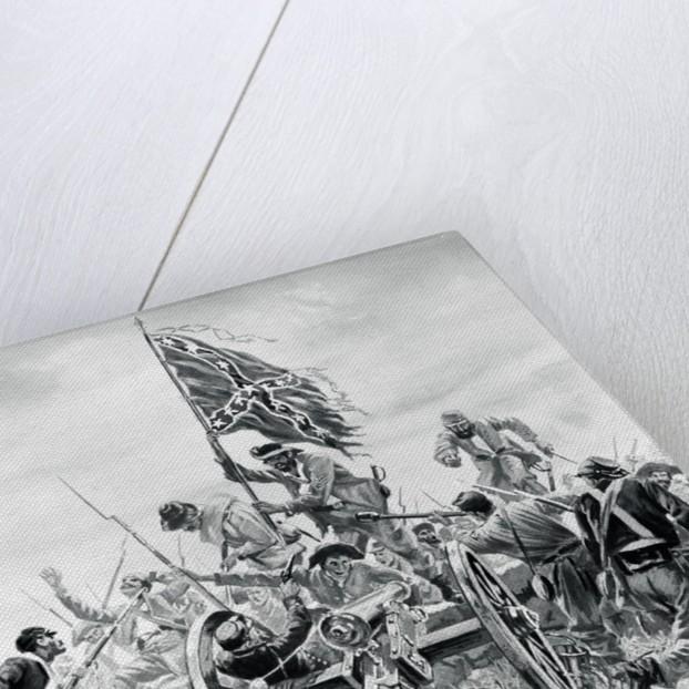 Illustration Depicting Battle of Gettysburg by Corbis