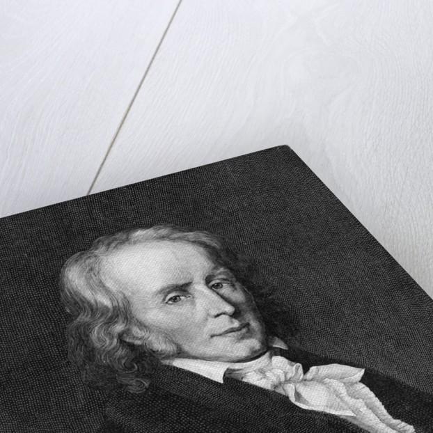 Painted Portrait of Benjamin Constant by Corbis
