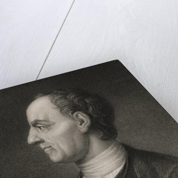 Profile of Mathematician Leonard Euler by Corbis