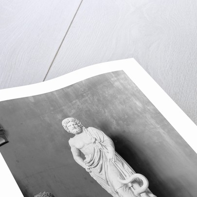 Display of Aesculapius Statue by Corbis