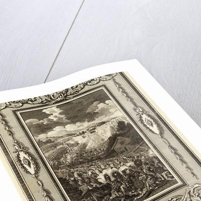 Engraving Depicting Scottish Battle by Corbis