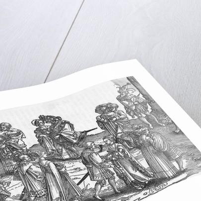 Dance Scene of 16th Century by Corbis