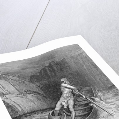 Charon Paddling Boat by Corbis