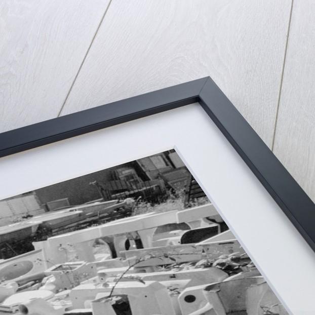 Old Sinks in Junkyard by Corbis