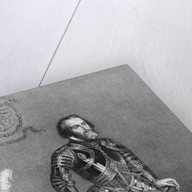 Spanish Explorer Hernando Cortez by Corbis