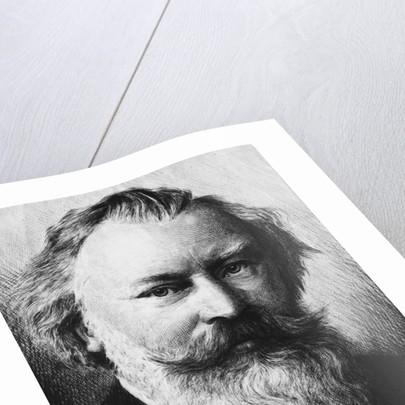 Portrait of Johannes Brahms by Corbis
