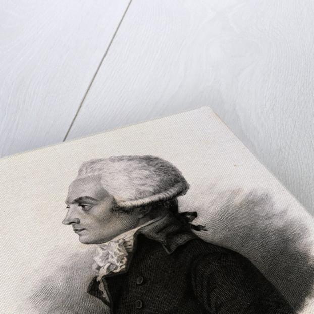 Portrait of Maximilien Robespierre by Corbis