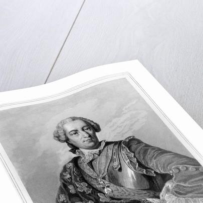 Louis XV by Jacques Etienne Pannier