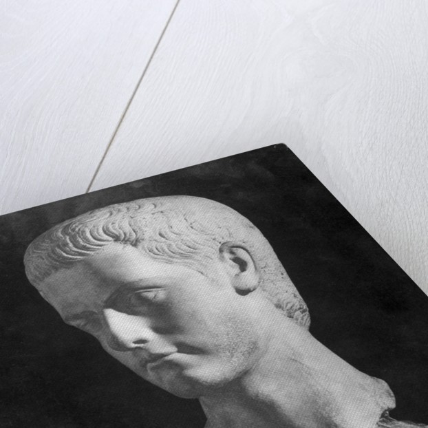 Bust of Roman Ruler Caligula by Corbis