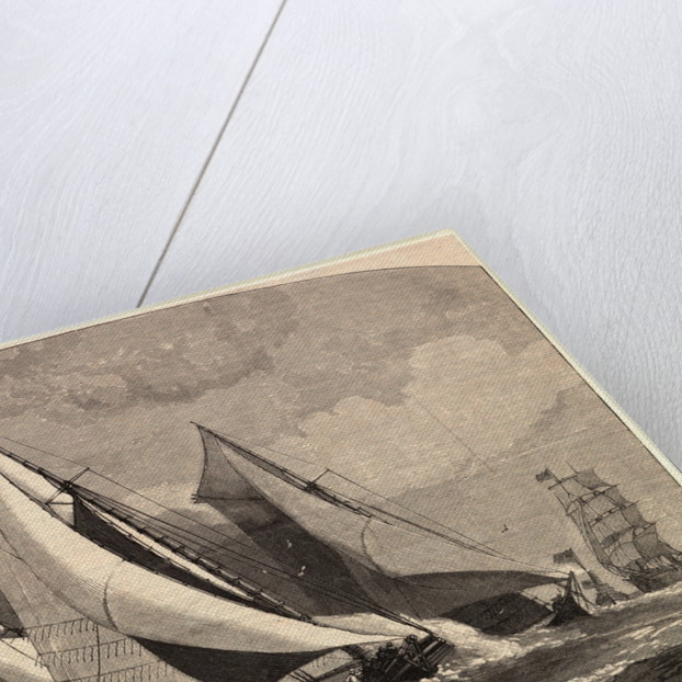 Yachting Race in 1881 by Corbis