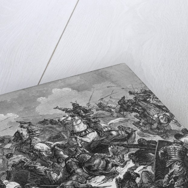 Japanese Soldiers Fighting Mongols by Corbis