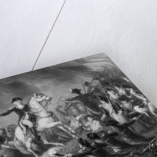 George Washington Directing Troops by Corbis