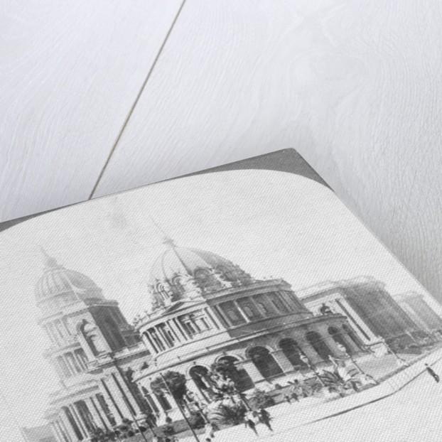 Illustration of San Francisco City Hall Site by Corbis