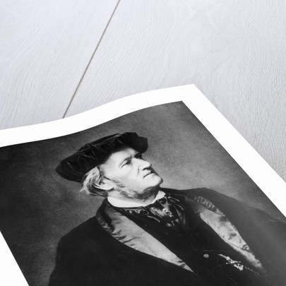 Composer Richard Wagner by Corbis