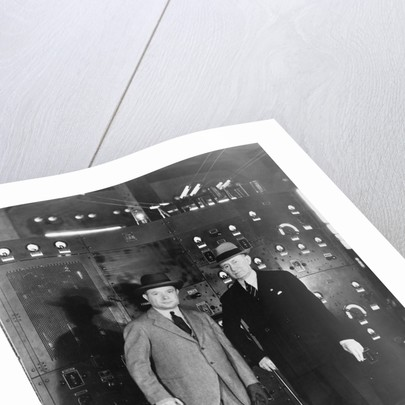 David Sarnoff with Guglielmo Marconi by Corbis