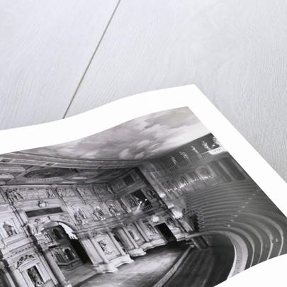 Interior of the Teatro Olimpico Theater by Corbis