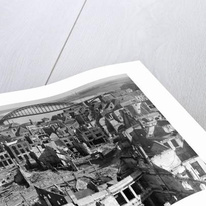 Aerial View of War Torn Buildings in Nijmegen by Corbis