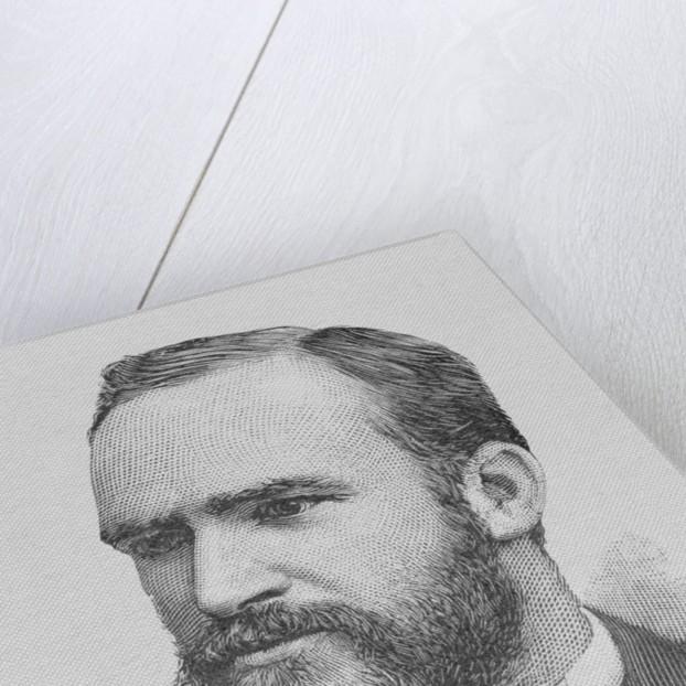 Engraved Portrait of Melvil Dewey by Corbis