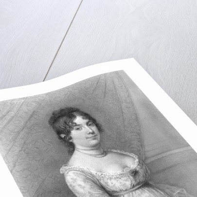 Portrait of the Wife of President James Madison by Corbis