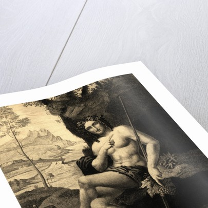 Illustrated Portrait of Bacchus by Corbis