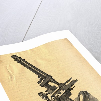 Baker's Compound Microscope by Corbis