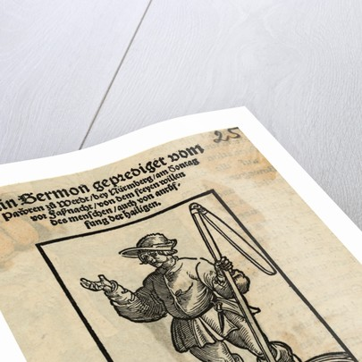 Illustration of Revolting Peasant by Corbis