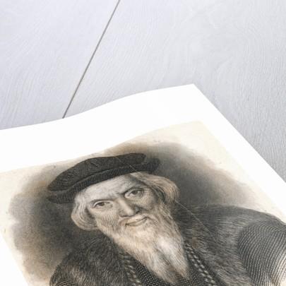 Portrait of Adventurer Sebastian Cabot by Corbis