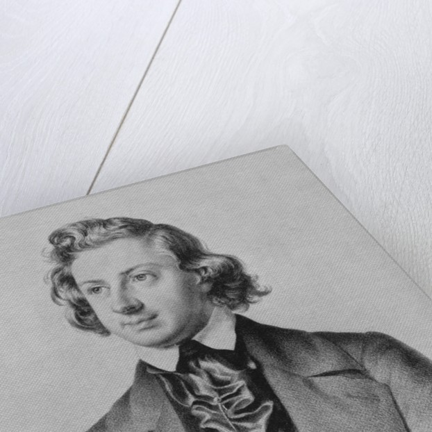 Composer Niels Wilhelm Gade by Corbis