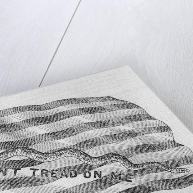 First U. S. Navy Jack Flag by Corbis