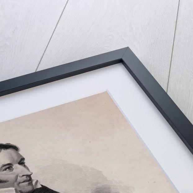 Portrait of David Crockett by Corbis