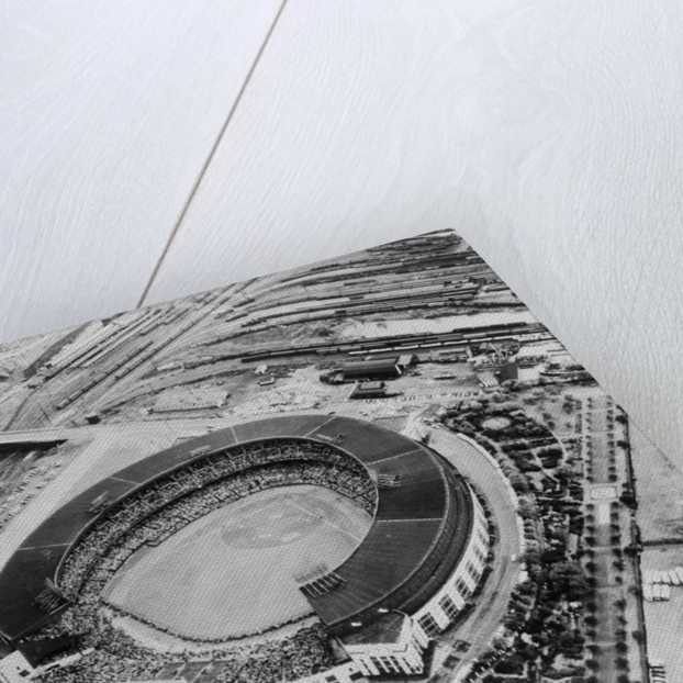 Cleveland's Municipal Stadium by Corbis
