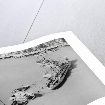 Navy Salvage Vessel by Corbis
